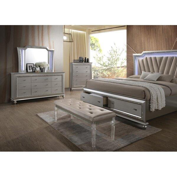 Echols Upholstered Storage Platform Bed by Mercer41