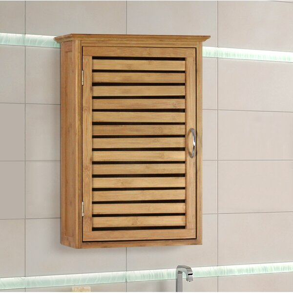 Spa 14.5 W x 21 H Wall Mounted Cabinet by Gallerie Decor