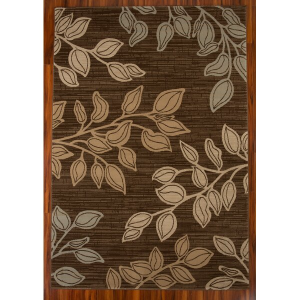 Eckert by Art 1899 Beige/Brown Area Rug by Winston Porter