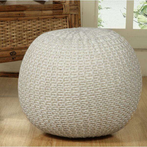 Nessa Sphere Pouf by Wrought Studio