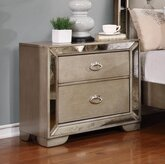 Belsford 2 Drawer Nightstand by Rosdorf Park