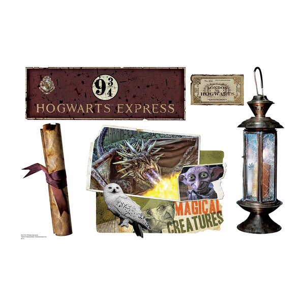 Harry Potter 7 HPotter Elements Wall Decal by Advanced Graphics