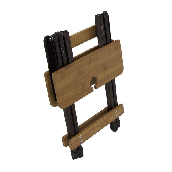 Dayton Solid Wood Side Table by Loon Peak