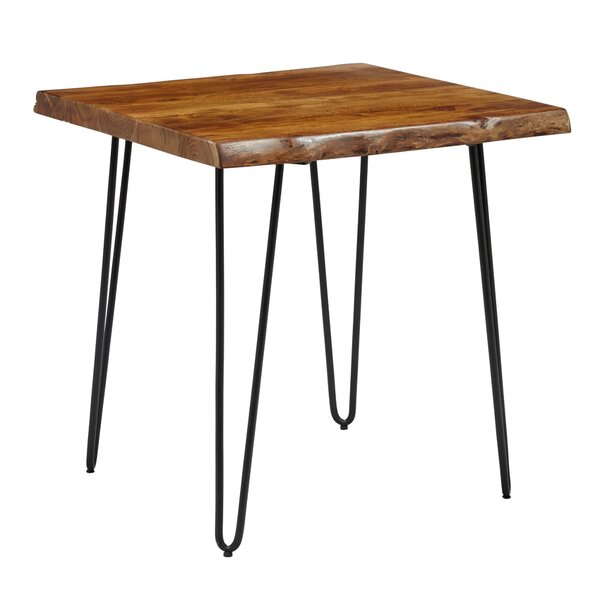 Mikayla Wooden End Table by 17 Stories