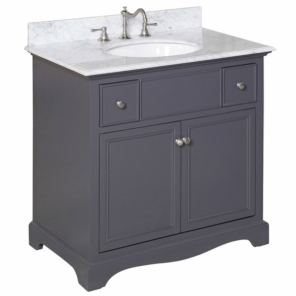 Emily 36 Single Sink Bathroom Vanity Set by Kitchen Bath Collection