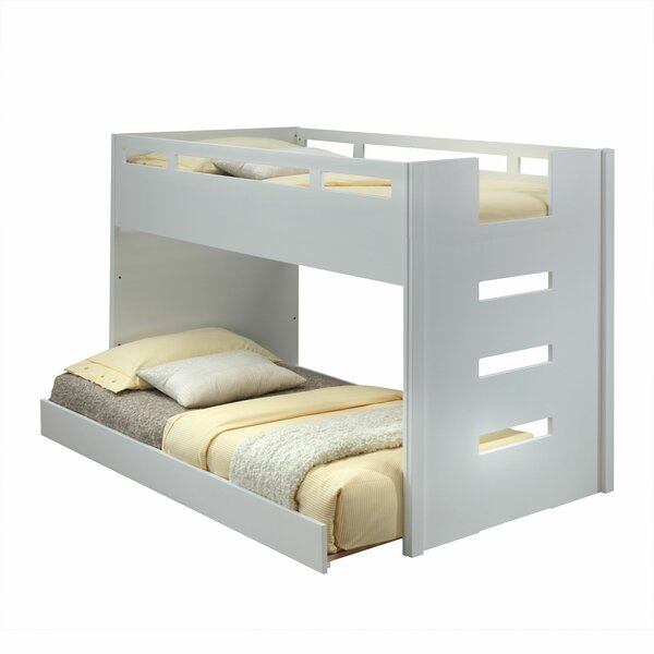 Howes Twin over Twin Loft Bed with Built-In Ladder by Zoomie Kids