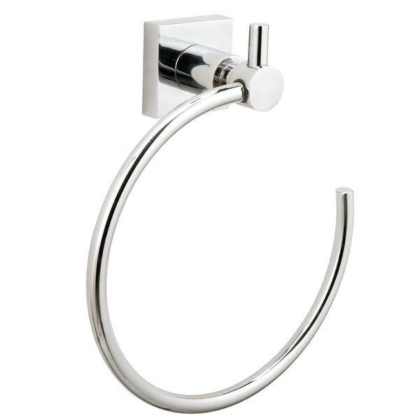 Hukk Wall Mounted Towel Ring by no drilling required