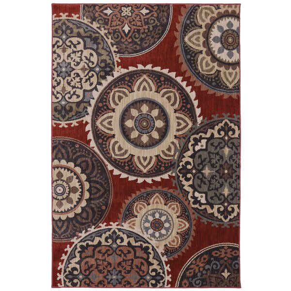 Dryden Summit View Ashen Ornamental Rug by Mohawk Home