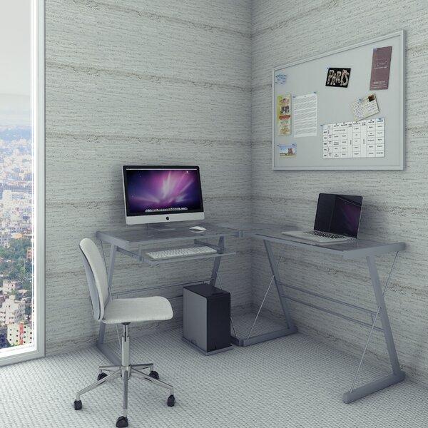 Lygia 3 Piece Corner L-Shaped Gaming Desk