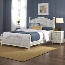 Naugatuck Panel 2 Piece Bedroom Set by Bay Isle Home