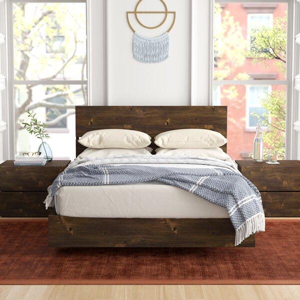 Frank Platform 2 Piece Bedroom Set by Foundstone