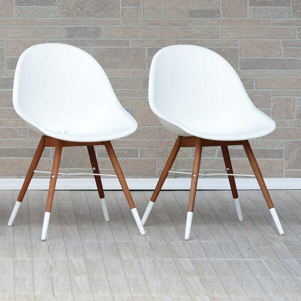 Kia Teak Patio Dining Chair (Set of 2) by Wrought Studio