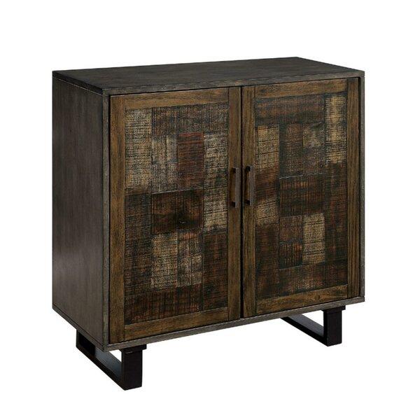 Murrell Textured Hallway Wooden 2 Door Accent Cabinet by Williston Forge Williston Forge