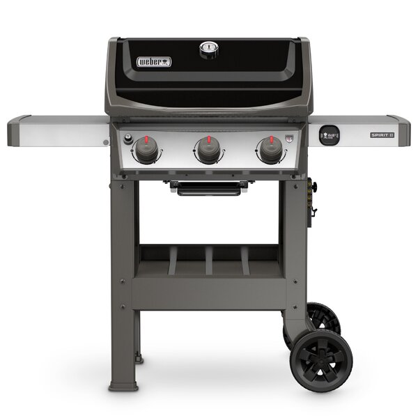 Spirit II E-310 3-Burner Propane Gas Grill by Weber