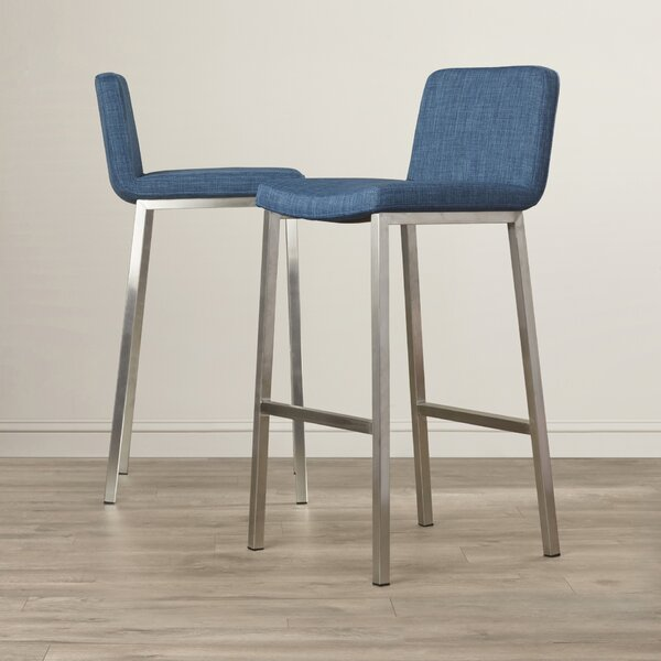Calila 30 Bar Stool (Set of 2) by Latitude Run