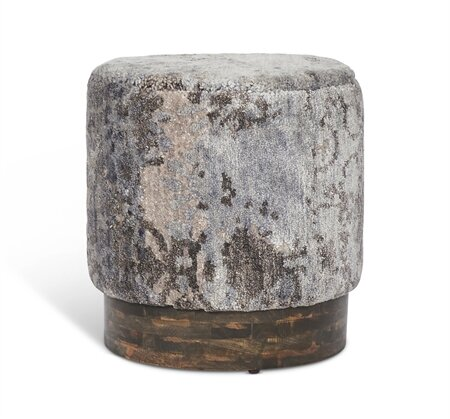 Desiree Round Accent Stool by Interlude