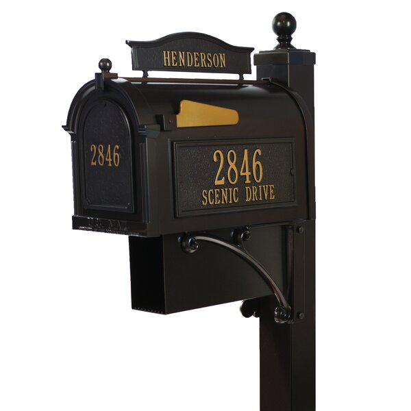 Ultimate Post Mounted Mailbox by Whitehall Products