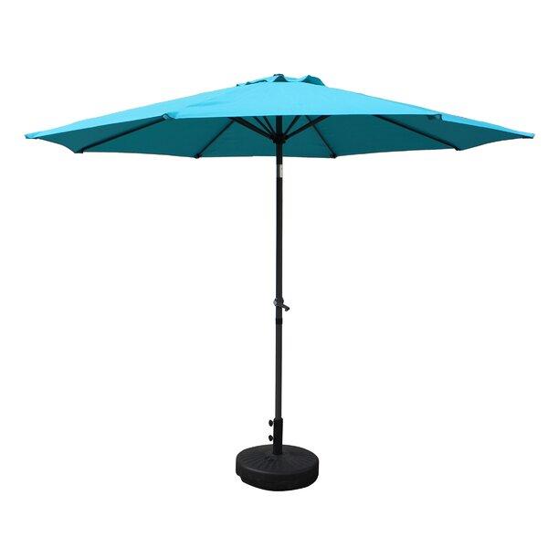 Devansh 9' Market Umbrella By Wrought Studio by Wrought Studio