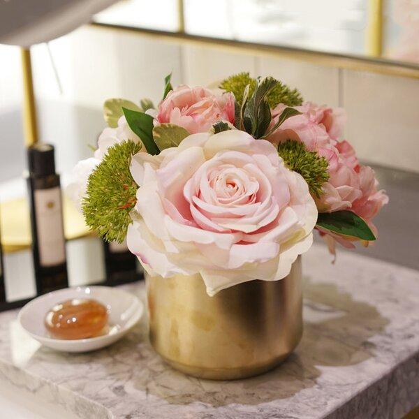 Roses Floral Arrangement by House of Hampton
