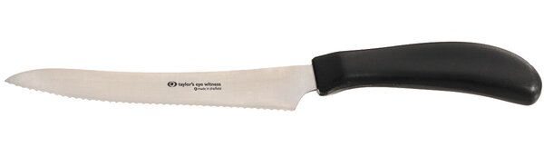 Taylor Eye Witness 5 Utility / Bread Serrated Knife by Ginkgo