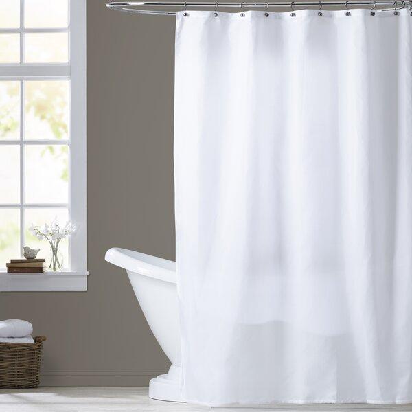 Berning Nylon Shower Curtain Liner By Three Posts.