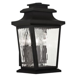 Best Reviews Campfield 3-Light Outdoor Wall Lantern By Darby Home Co