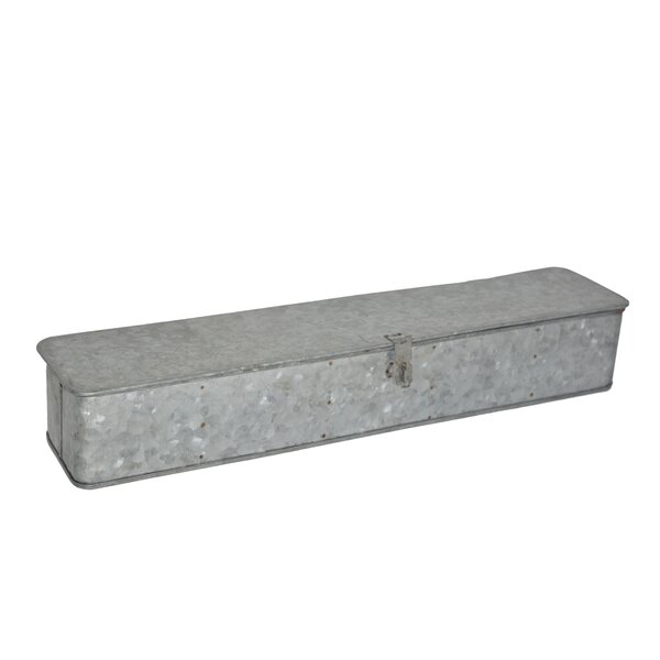 Galvanized Iron Planter Box by BIDKhome
