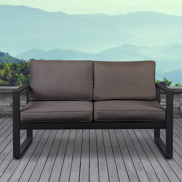 Baltic Loveseat with Cushions by Real Flame Real Flame