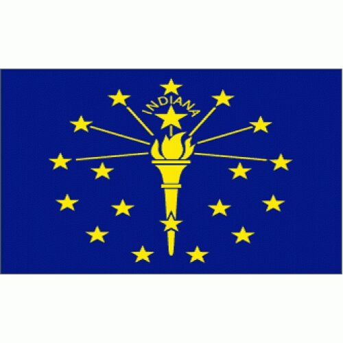 Indiana Traditional Flag by NeoPlex