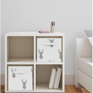 Best Reviews Woodland Deer Fabric Storage Cube BySweet Jojo Designs