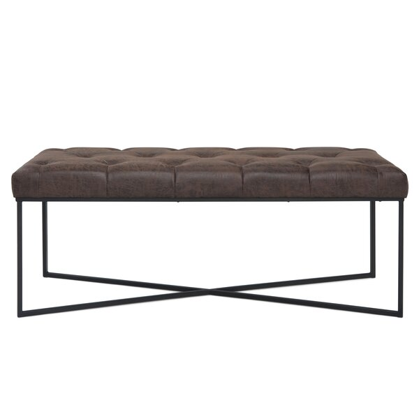 Ballance Faux Leather Bench by Wrought Studio Wrought Studio