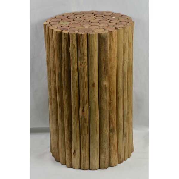 Kadence Wood Accent Stool by Union Rustic