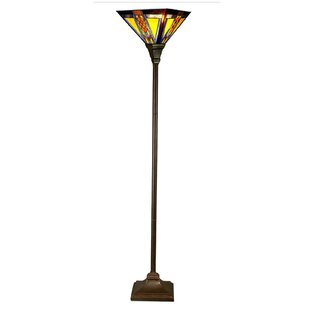 Torchieres youll love wayfair ashprington 71 torchiere floor lamp aloadofball Gallery
