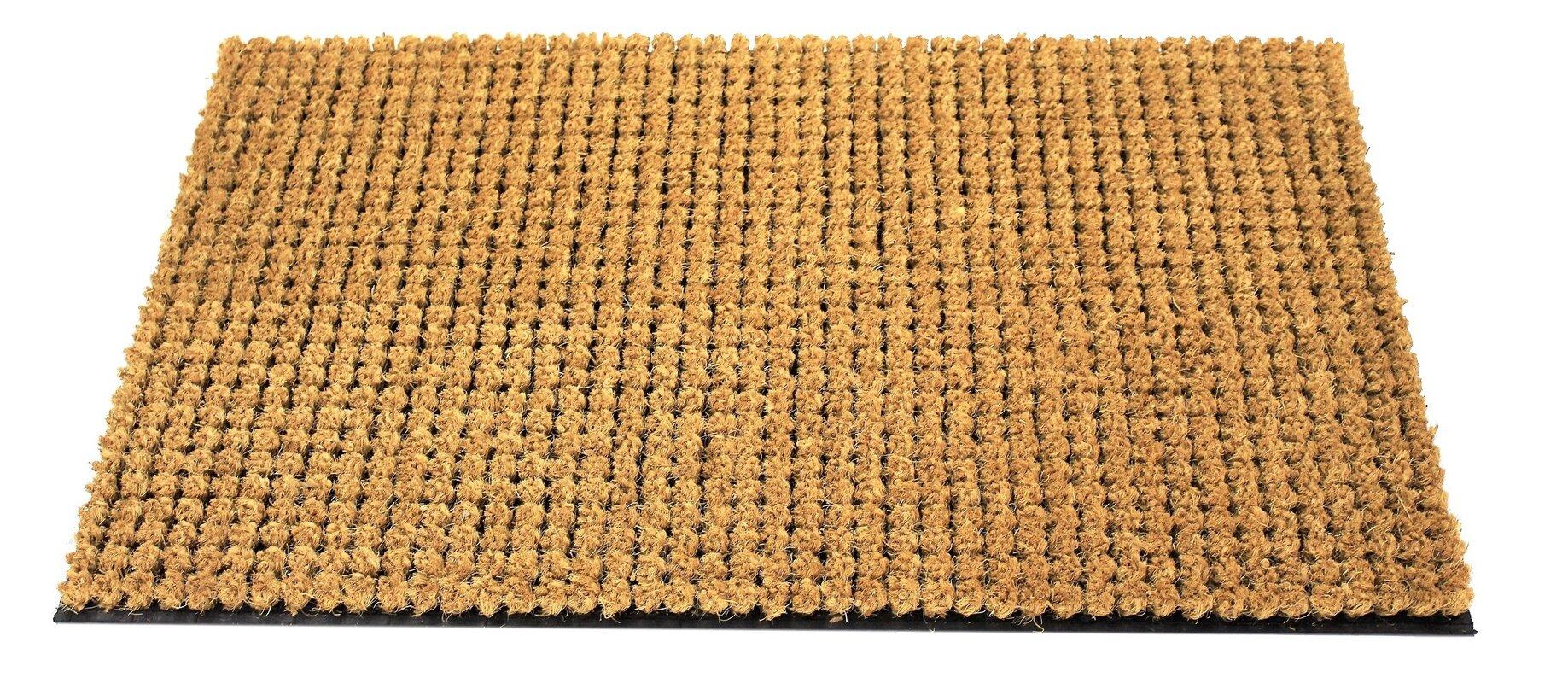 Decorating coir door mats pics : Envelor Home Coco Coir Cluster Outdoor Welcome Doormat & Reviews ...