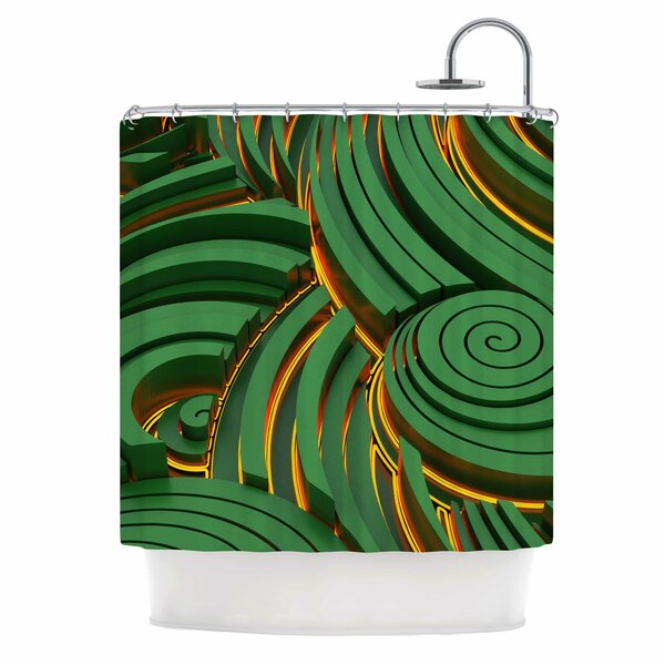 Danny Ivan infinity Shower Curtain by East Urban Home