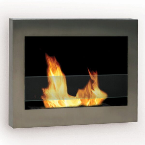 Soho Wall Mounted Bio-Ethanol Fireplace By Anywhere Fireplace