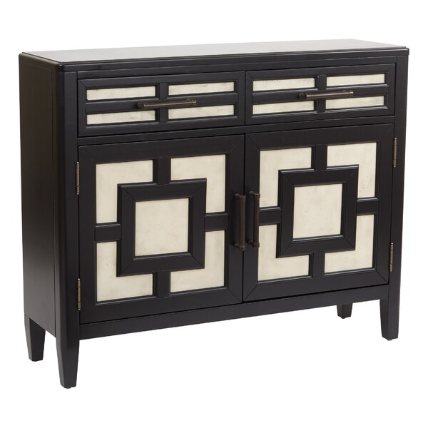 Charl Storage 2 Door 2 Drawer Accent Cabinet by Bloomsbury Market Bloomsbury Market