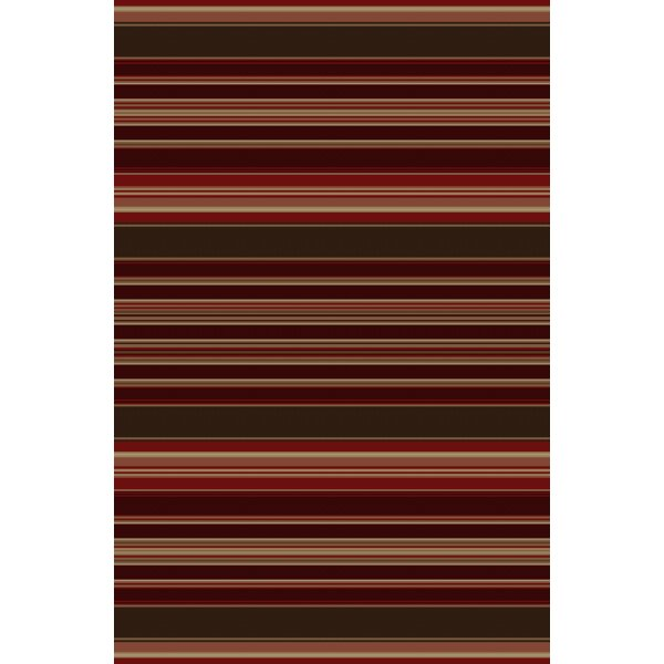 Lodge King Red Area Rug by Mayberry Rug