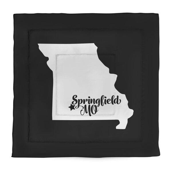 Springfield Missouri Single Reversible Comforter