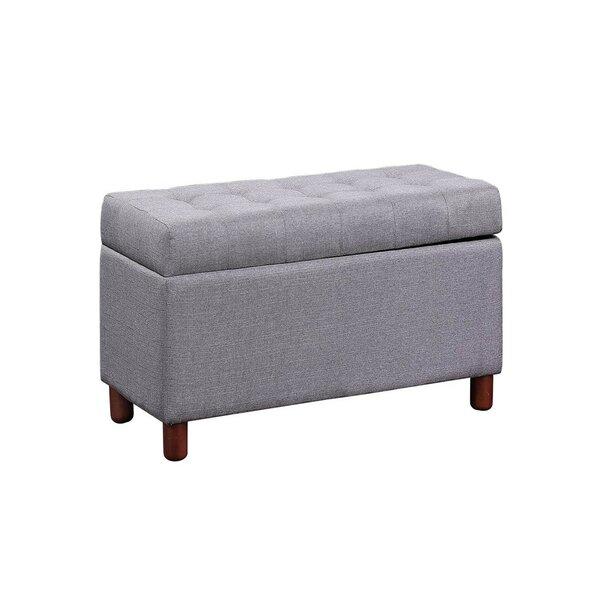 Izabela Upholstered Flip Top Storage Bench By Red Barrel Studio