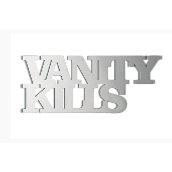 Vanity Kills Accent Mirror by Seletti