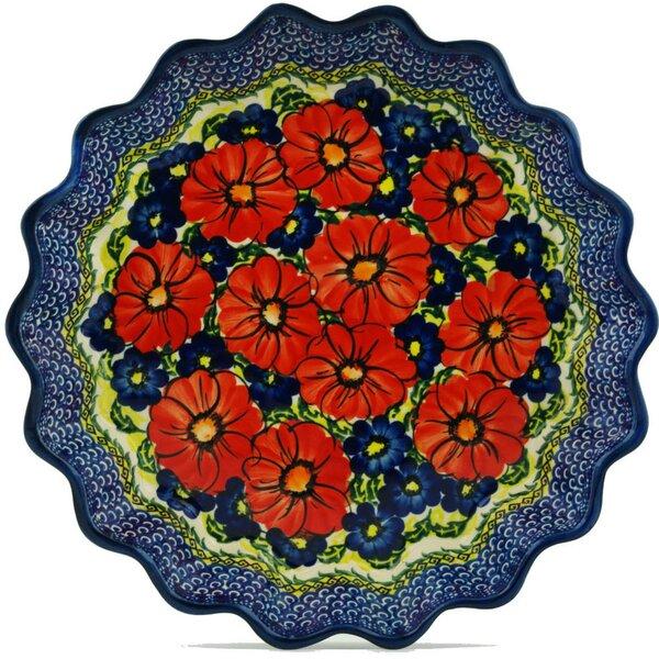 Star Fluted Pie Dish by Polmedia