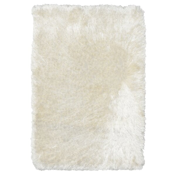 Olivine Hand-Woven Ivory Area Rug by Mercer41