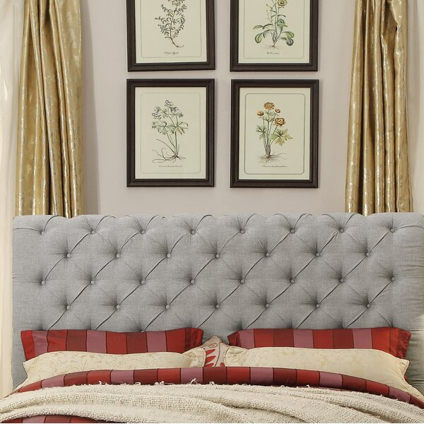 Lilyana Queen Upholstered Panel Headboard by Alcott Hill