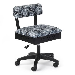 Review Ian Adjustable Height Hydraulic Sewing and Craft Office Chair by Red Barrel Studio