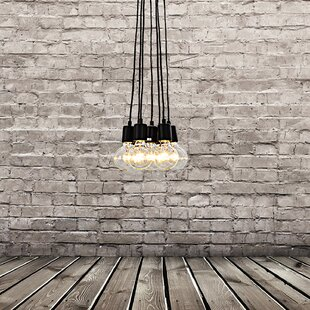 7-Light Cluster Pendant By Unitary Ceiling Lights