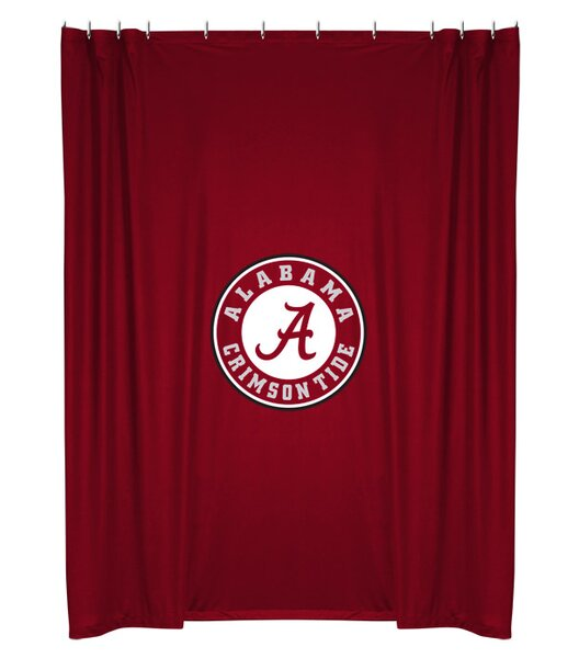 NCAA Shower Curtain by Sports Coverage Inc.