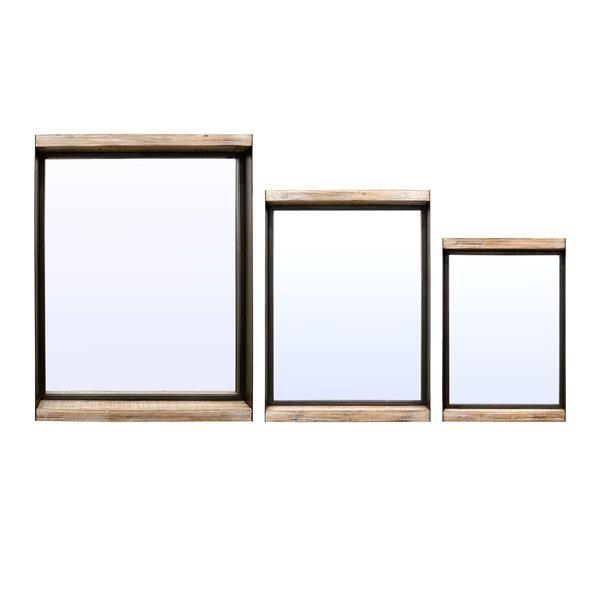 3 Piece Silvestre Shadow Boxes Mirror Set by Gracie Oaks