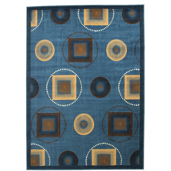 Karsten Blue Area Rug by Latitude Run