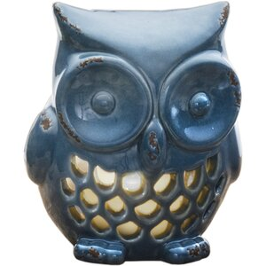 Owl Ceramic Tealight Holder